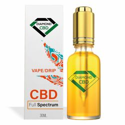 Diamond CBD Full Spectrum Vape/Drip Oil - 1000mg