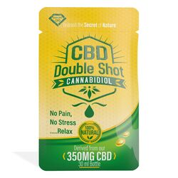 25 Pack Diamond CBD Double Shot 350mg (1ml)