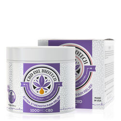 Biotech CBD Cream - 1000mg