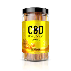 CBD Infused - Honey Sticks - 1000mg (100 Pack)