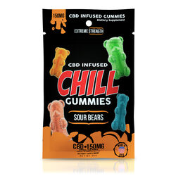 Chill Gummies - CBD Infused Sour Bears - 150mg