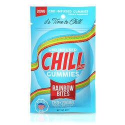 Chill Plus Gummies - CBD Infused Rainbow Bites - 200mg