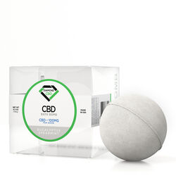Diamond CBD Bath Bomb Eucalyptus Spearmint - 100mg