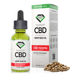 Diamond CBD Full Spectrum Hemp Seed Oil - 1500mg (30ml)