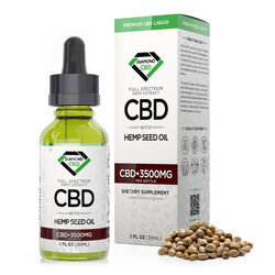 Diamond CBD Full Spectrum Hemp Seed Oil - 3500mg (30ml)