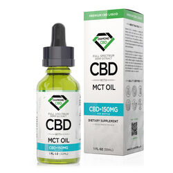 Diamond CBD Full Spectrum MCT Oil - 150mg (30ml)