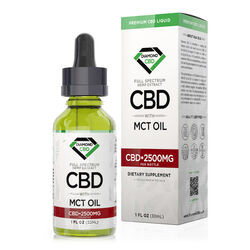Diamond CBD Full Spectrum MCT Oil - 2500mg (30ml)