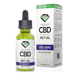 Diamond CBD Full Spectrum MCT Oil - 25mg (30ml)