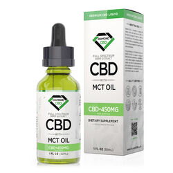 Diamond CBD Full Spectrum MCT Oil - 450mg (30ml)