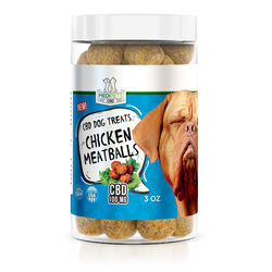 MediPets CBD Dog Treats - Chicken Meatballs - 100mg