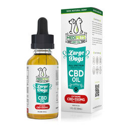 MediPets CBD Oil for Large Dogs - Extreme Strength - 550mg (30ml)