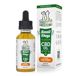 MediPets CBD Oil for Small Dogs - Strong Strength - 50mg (30ml)