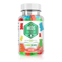 Meds Biotech Gummies - CBD Infused Gummy Bears - 1000mg