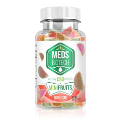 Meds Biotech Gummies - CBD Infused Mini Fruits - 1000mg