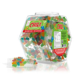 Chill Plus Mini Gummies - CBD Infused Mini Gummies (100 pack)