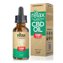 Relax Full Spectrum CBD Oil - 350mg