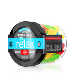 Relax Gummies - CBD Full Spectrum Gummy Bears - 1500mg