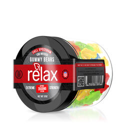 Relax Gummies - CBD Full Spectrum Gummy Bears - 3500mg