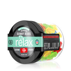 Relax Gummies - CBD Full Spectrum Gummy Bears - 750mg