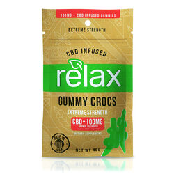 Relax Gummies - CBD Infused Gummy Crocs - 100mg