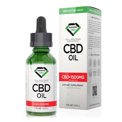 Unflavored Diamond CBD Oil - 1500mg