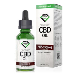 Unflavored Diamond CBD Oil - 3500mg