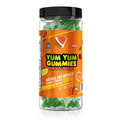Yum Yum Gummies 1000mg - CBD Infused Gummy Crocs