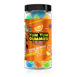 Yum Yum Gummies 1000mg - CBD Infused Sour Poppers