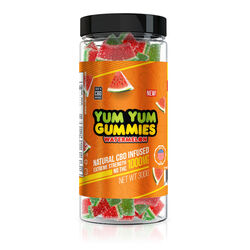 Yum Yum Gummies 1000mg - CBD Infused Watermelon Slices
