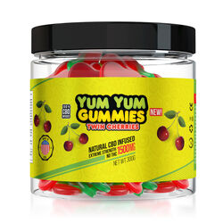 Yum Yum Gummies 1500mg - CBD Infused Twin Cherries