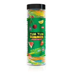 Yum Yum Gummies 250mg - CBD Infused Gummy Frogs