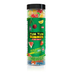 Yum Yum Gummies 250mg - CBD Infused Sour Bears