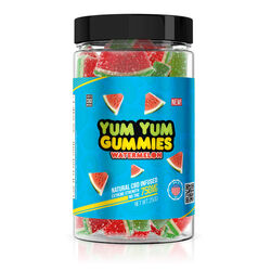 Yum Yum Gummies 750mg - CBD Infused Watermelon Slices