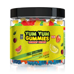 Yum Yum Gummies - CBD Full Spectrum Gummy Bears - 1500mg