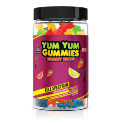 Yum Yum Gummies - CBD Full Spectrum Gummy Bears - 2500mg