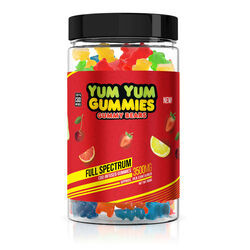 Yum Yum Gummies - CBD Full Spectrum Gummy Bears - 3500mg