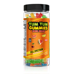 Yum Yum Gummies - CBD Full Spectrum Sour Bears - 1000mg
