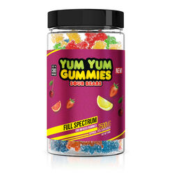 Yum Yum Gummies - CBD Full Spectrum Sour Bears - 2500mg